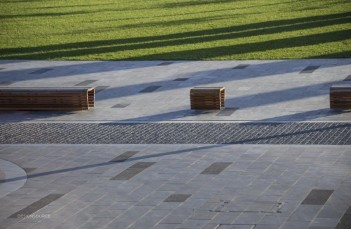 Pukeahu National War Memorial Park Wellington - Granite Stone Pavers