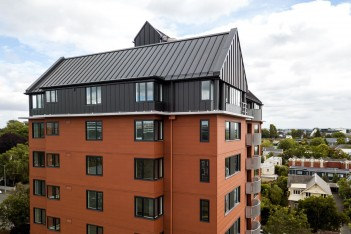 Gloucester Street Apartments Christchurch - Terraçade TN Smooth Tanami