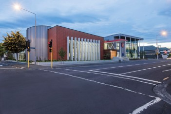 The Salvation Army Gracefield, Christchurch - Terraçade XP Kimberley Smooth
