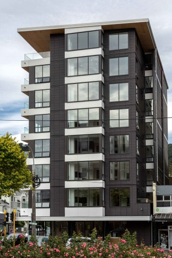 Alpha Street Apartments Wellington - Terraçade TN Smooth Simpson